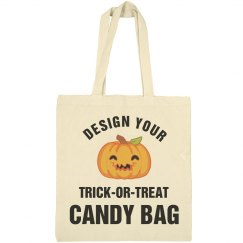 Design A Trick Or Treat Candy Bag