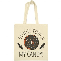 Donut Touch My Candy Halloween Bag
