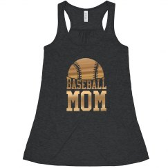 Golden Baseball Mom