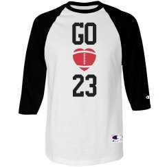 Proud Football Mom Jersey Shirt With Custom Number