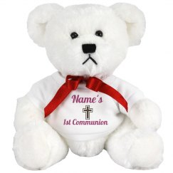 1st Communion Bear