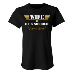 "Soldier Wife ""Name Here"""