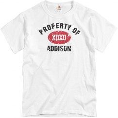 Property of Addison