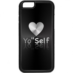 Love YOself Black  iPhone 6 Case