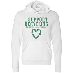 Support Recycling Hoodie