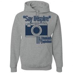 Say INspire hoodie