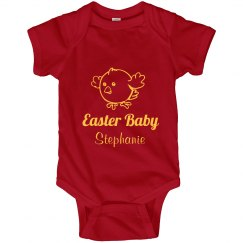 Red Easter Bunny Dress
