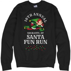 Elf Santa Fun run