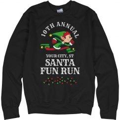 Elf Santa Fun run