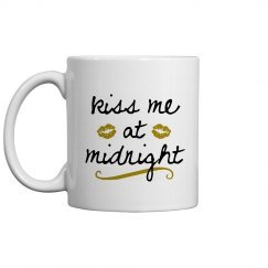 Gold Kiss Me At Midnight