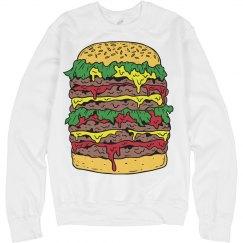 Cheeseburger Sweater
