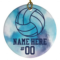 Custom Volleyball Player Gift