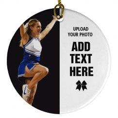 Custom Cheerleader Photo Designs