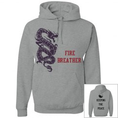 fire breather hoodie