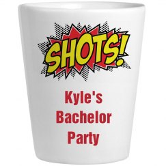 Bachelor Party Shot Glass