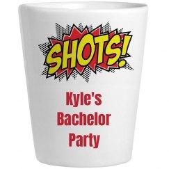 Bachelor Party Shot Glass