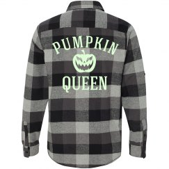 Plaid Glow Pumpkin Queen