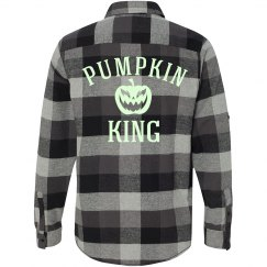 Plaid Glow Pumpkin King