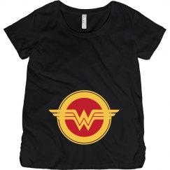 Wonder Woman Parody Maternity Mom