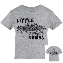 Little Rebel Skulls