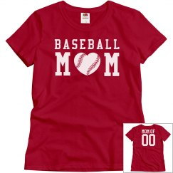 A Baseball Mom's Love and Pride