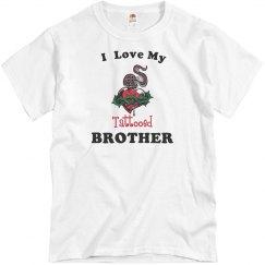 Love tattooed brother