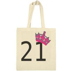 21st Princess Tote