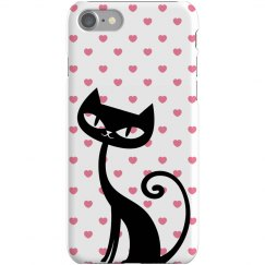 Cat Hearts iPhone Case