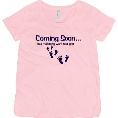 Cute Maternity Shirt