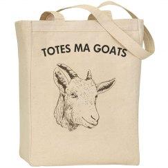 TOTESMAGOATS REUSABLE BAG