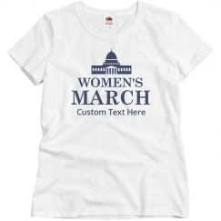 Women's March Custom Shirts