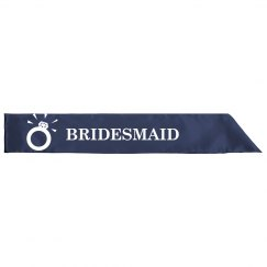 Bridesmaid Sash 1