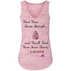 Find Your Inner Strength -Breast Cancer Survivor tank