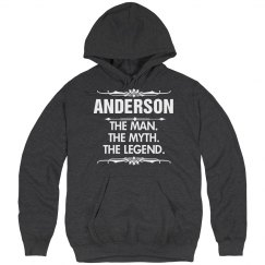 Anderson the man the myth the legend