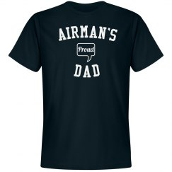 Proud airman's dad