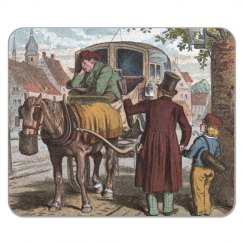 Old Carriage Mousepad