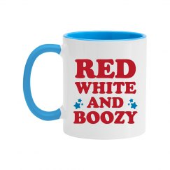 Red White And Boozy 4th Of July