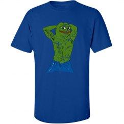 distressed Pepe tee