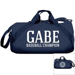 Gabe, Baseball Champ