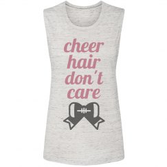 Adorable Cheer Hair Don't Care Tank