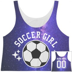 Custom Soccer Girl All Over Print