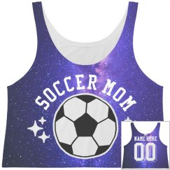 All Over Print Space Soccer Mom
