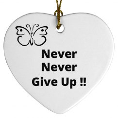 Never Never Give Up !!