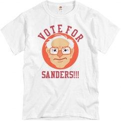 Vote For Sanders T-Shirt