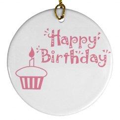 1ST Birthday Ornament