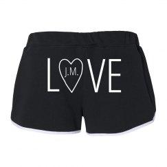 LOVE w/Heart Initials