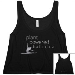 plant powered ballerina