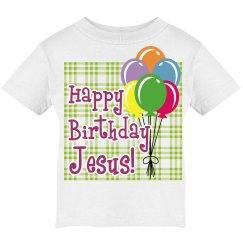Happy Birthday Jesus tee