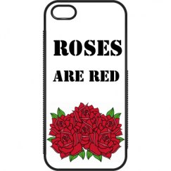 Roses are red iPhone case