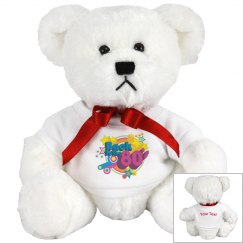 80's Retro Teddy Bear